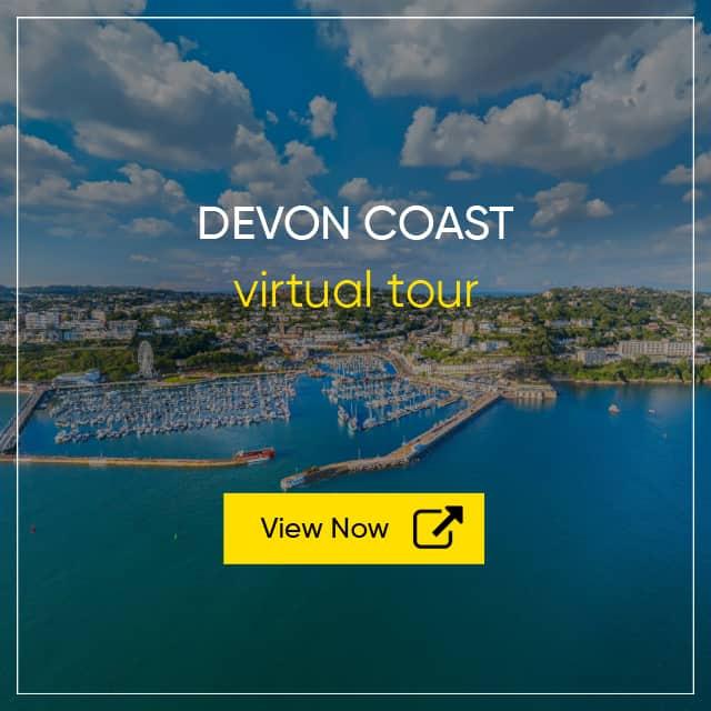 Devon Coast Tourism - Aerial Photography of Devon - Tourism Virtual Tour