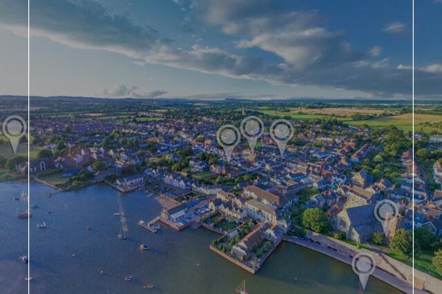 Topsham Devon Drone Virtual Tour - Tourism Virtual Tour - 360 Drone