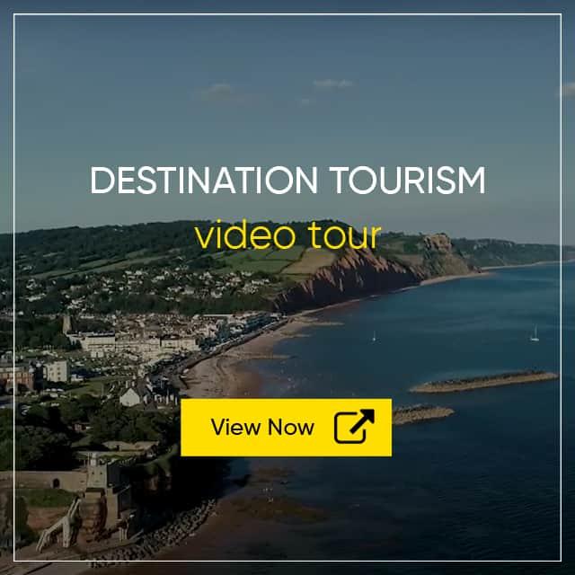 Destination Tourism Video - Sidmouth Aerial Video Tour - Tourism Video Virtual Tours