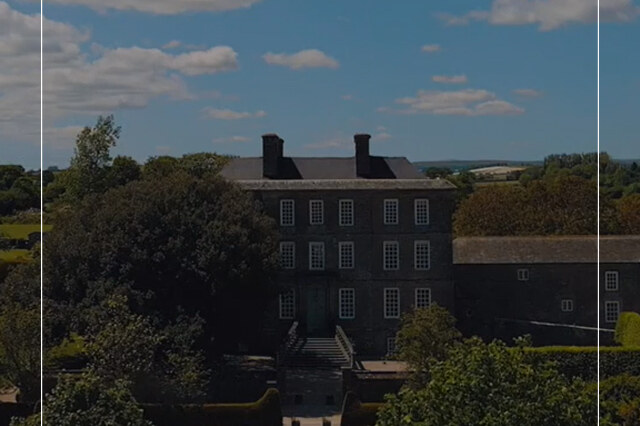 Stately Home Aerial Video Tour - Real Estate Virtual Tour Video