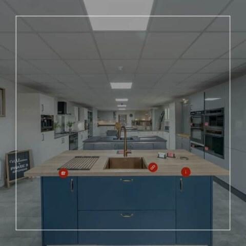 Phase 3 Kitchens Virtual Tour - Kitchen Showroom Virtual Tours